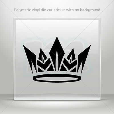 Stickers Sticker Royal Crown Chess Queen King Kingdom Vehicle st5 ZZ249
