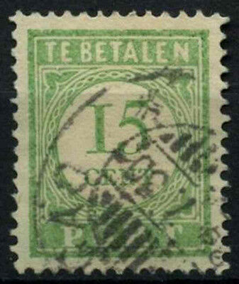 Curacao 1915-39 SG#D100, 15c Green P12.5 Postage Due Used #D43892