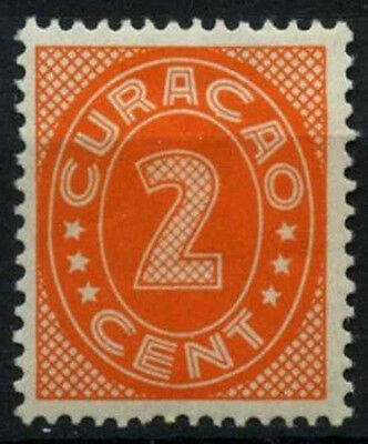 Curacao 1936-42 SG#157A, 2c Orange P13.5x12.5 MH #D43878
