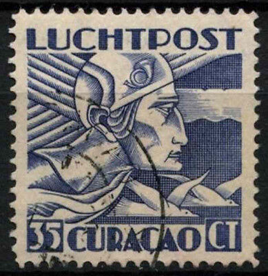 Curacao 1931-9 SG#128, 35c Blue, Air Used #D43864