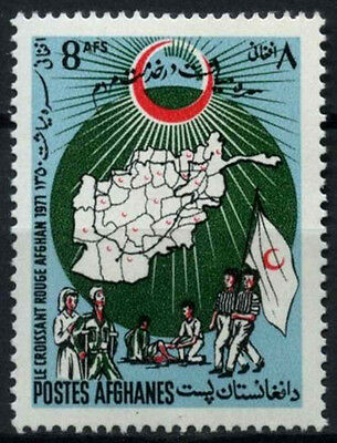 Afghanistan 1971 SG#718 Red Crescent Day MNH #D43706