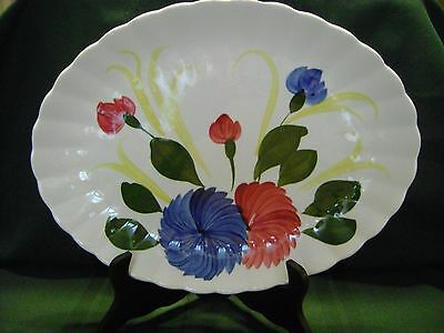 Blue Ridge Southern Pottery 13 inch Platter Mum or Dahlia