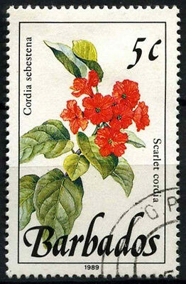 Barbados 1989-92 SG#891 5c Wild Plants Definitive 1989 Imprint Date Used #D43131