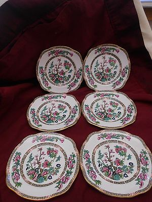 Duchess Indian Tree Of Life Set Of 6 Side Plates Bone China Made In England