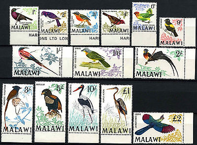 Malawi 1968 SG#310-323 Birds Definitives MNH Set #D42700