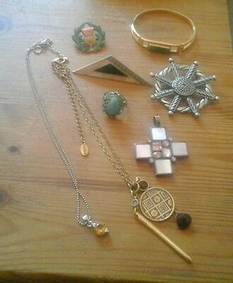 Mixed costume jewellery lot