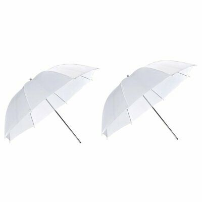 "2Godox 33""84CM Photography Photo Studio Soft Translucent White Diffuser Umbrella"
