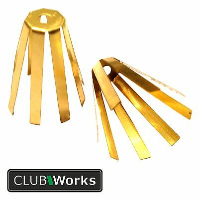 "Golf club brass adaptor shim - .335"" shaft into .350"" head - Pack of 1 or 3"