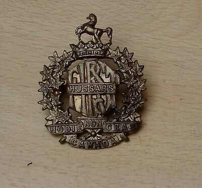 First Hussars of Canada cap badge