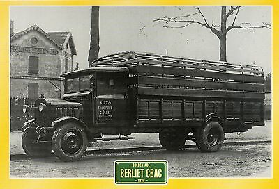 Berliet CBAC                    Glossy   Picture (T118)