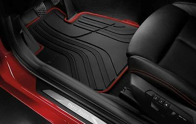 BMW All-Weather Rubber Front Car Mats Sport F30/F31 51472339780 Right hand Drive