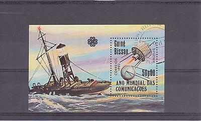 1983 Guinea-Bissau - World Communications Year - Sg Ms783 - Used - Cto