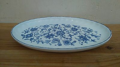 Oval Minton Dish in the Shalimar Pattern