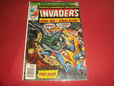 THE INVADERS #9  Marvel Comics 1976  FN/VF