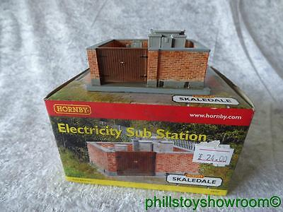 Oo Hornby R8747 Electricty Sub Station Vgc Boxed Retired Discontinued