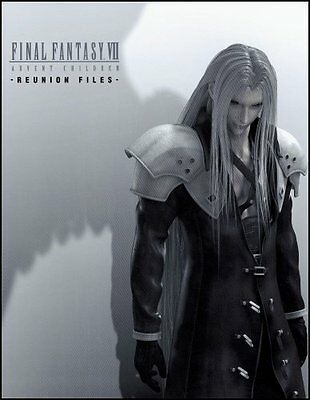 PSP - FINAL FANTASY 7 Reunion Files Guide Book Japan FF