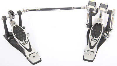 Pearl P-2002C Eliminator Powershifter Chain Driven Double Bass Drum Pedal