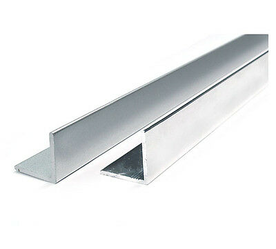 """2 Piece Combo: 1 mm Thick 6061 Aluminum Angle 2"""" x 2"""" x 24"""""""
