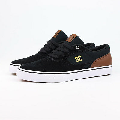NEW IN BOX. DC Switch Skate Shoes Size UK 8. Black/Brown/White.
