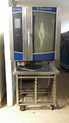 Electrolux Air-O-Steam  Touchline 10 Grid Electric Combi Oven With Stand
