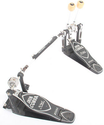 Tama Iron Cobra HP900 Chain Driven Double Bass Twin Drum Pedal With Carry Case