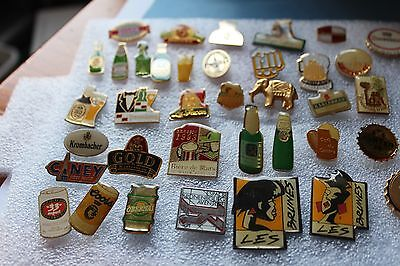 37  Enamel BEER/ALE Pin Badges