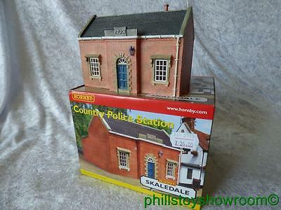 Oo Hornby Skaledale R8701 Country Police Station Vgc Boxed Retired Discontinued