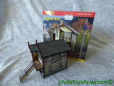 Oo Hornby Skaledale R8534 Signal Box Vgc Boxed Retired Discontinued