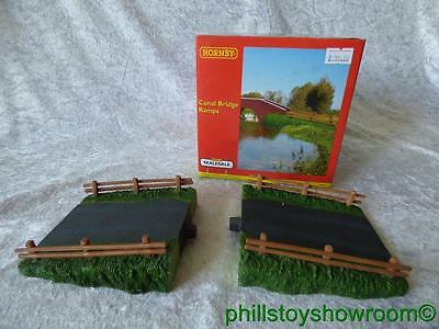 Oo Hornby Skaledale R8606 Canal Bridge Ramps Vgc Boxed Retired Discontinued