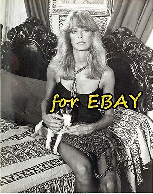 FARRAH FAWCETT RARE BW Outtake 8X10 CHARLIES ANGELS PHOTO SUNBURN 1B