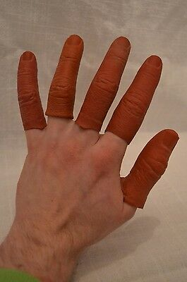 ORIGINAL production-made Hellboy (Ron Perlman) fingers film movie prop sci-fi