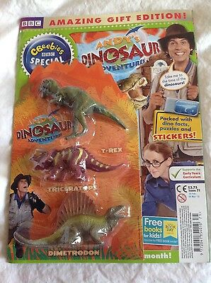 CBeebies  special Andys dinosaur adventures issue 71