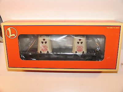 Lionel AEC Uranium Flat Car With Lighted Containers 6-36006 NIB Atomic Nuclear
