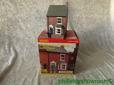 Oo Hornby Skaledale R8687 Bay Terraced House Left Hand Vgc Retired Discontinued