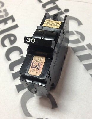 FPE (AMERICAN, CHALLENGER) NC230 2 Pole 30A Circuit Breaker Professional Tested