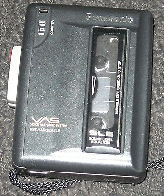 Panasonic Vas Rq-L340 Voice Activated Recorder With Counter
