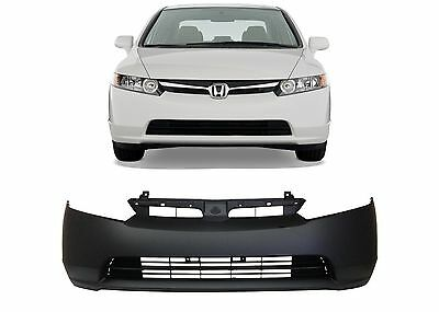 Replacement Front Bumper Cover For 2006-2008 Honda Civic New Free Shipping USA