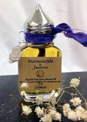 Honey Suckle & Jasmine Superior Grade Long Lasting Thick Uncut Oil Strong 15 ml.