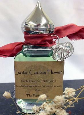 Exotic Cactus Flower Superior Grade Long Lasting Thick Uncut Oil Strong 15 ml.
