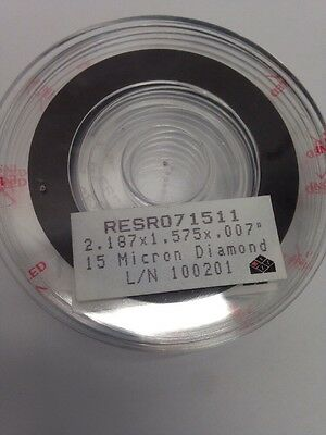 7 Dicing Blades Resin Bonded Diamond Dicing Blade 2.187 Silicon Disco Adt K&s