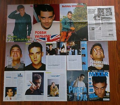 ROBBIE WILLIAMS Posters Articles Clippings