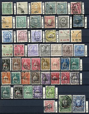 PORTUGAL AZORES Lot of 49 Classic Stamps CV$129.20