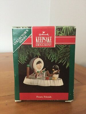 Hallmark Ornament NIB #12 In The Frosty Friends Series 1991