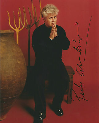 Pedro Almodovar Signed 10x8 Photo With Proof AFTAL