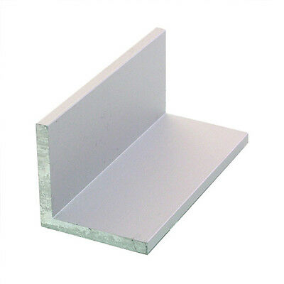 """1.5 mm Thick 6061 Aluminum Angle 1"""" x 1"""" x 18"""""""