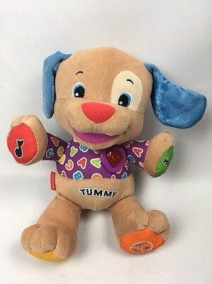 Fisher Price Laugh & Learn Puppy Dog Talking Soft Toy Sings Etc