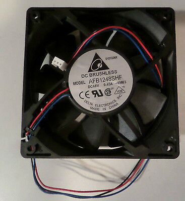 Lüfter FAN 120x120x32mm 48 Volt 0,45A 3Pin 4300 RPM AFB1248SHF DeltaElectronics
