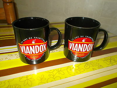 Lot 2 Grandes Tasses Mug Viandox 75 Ans De Tradition