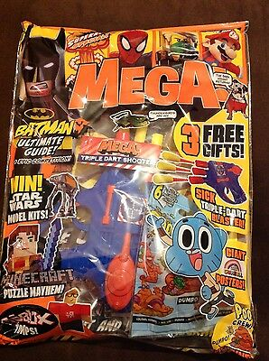 Mega Magazine Issue 52 Sealed With Lots Free Gifts
