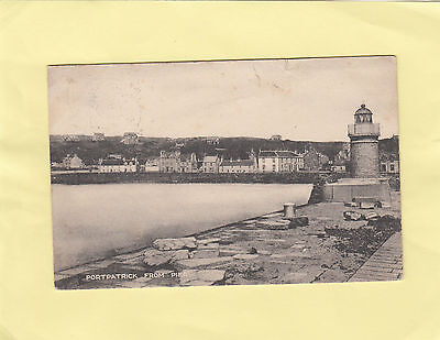 PORTPATRICK  from  PIER      , DUMFRIES ,  BORDERS  , SCOTLAND  (S46)